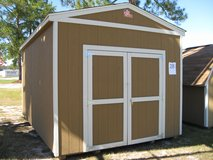 10x16 Utility Storage Building Shed DISCOUNTED!!! in Moody AFB, Georgia