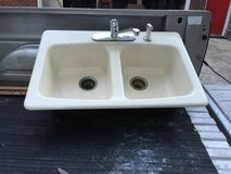 Kohler Cast Iron Sink with faucet in Warner Robins, Georgia