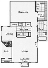 Forest Creek has a one bedroom available today! in Conroe, Texas