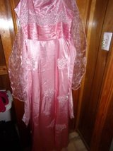 #3002 LADIES BALL GOWN/ PROM DRESS. NEW SIZE 2X NEW PINK in Fort Hood, Texas