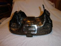#12 GUESS HOBO PURSE BLACK AND GOLD - $35 in Fort Hood, Texas