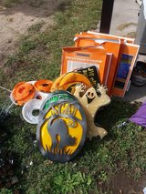 Assortment of Halloween decorations in Fort Riley, Kansas