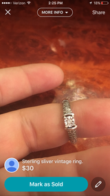 Antique ring in Warner Robins, Georgia