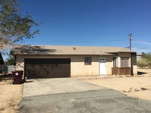 Two bedroom one bath  two car garage  7 miles to base in 29 Palms, California