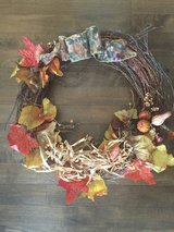 Autumn Wreath in Naperville, Illinois