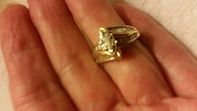 14 kt gold marquise & baguettes engagement /wedding ring in Mobile, Alabama