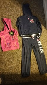 Girls Jogging Outfit and Black Label Vest in Morris, Illinois