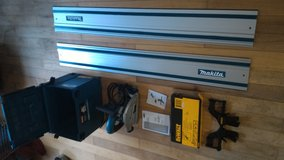 Brand new Makita Tracksaw and rail and clamps in DeRidder, Louisiana