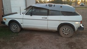 Volkswagen convertible project car in Alamogordo, New Mexico