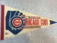 1989 eastern conference cubs pennant in Aurora, Illinois