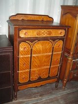 Antique Wood Inlay 4 Drawer Chest in Camp Lejeune, North Carolina