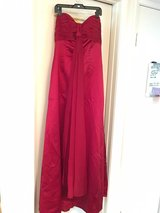Beautiful Red Strapless Gown Size 10 in Miramar, California