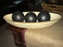 Pier 1 Wood carved Bowls in Lockport, Illinois