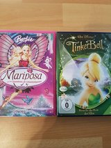 German Tinker Bell And Barbie DVD in Ramstein, Germany