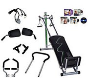 Total Gym Supreme with all accessories and DVD's in Dyess AFB, Texas