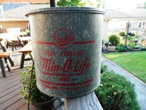 Vintage (Circa 1960) Frabills Full Floating Min-O-Life Minnow Bucket Model 480 - NEAR MINT! in Lockport, Illinois