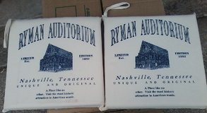 Ryman Auditorium Seat Cushions in Fort Campbell, Kentucky