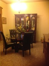 Dining room table, chairs, hutch, buffet in Belleville, Illinois