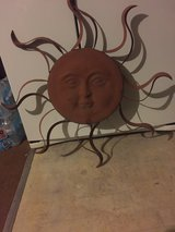 REDUCED TO SELL - Large Metal Sun in Cleveland, Texas