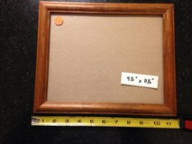 "9 1/2"" x 11 1/2"" Wood Picture Frame w/glass in Glendale Heights, Illinois"