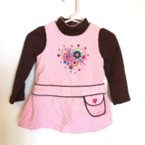 3-6 mos baby girls jumper outfit in Macon, Georgia