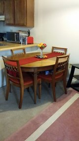 DINING TABLE WITH 4 CHAIRS FOR $200 in Camp Lejeune, North Carolina
