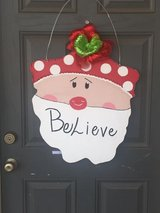 Personalized seasonal door hangers. in Colorado Springs, Colorado
