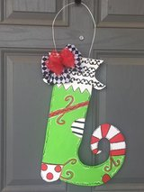 Personalized seasonal door hangers in Colorado Springs, Colorado