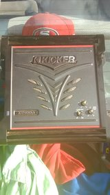 2 15' kickers and amp for sale in Shreveport, Louisiana