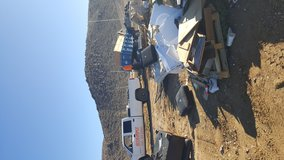 Efficiency landscaping and haul away in Yucca Valley, California