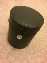 Nikon hard lens case new in Glendale Heights, Illinois