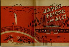 1952 JAPAN FRIEND and ALLY booklet in Okinawa, Japan