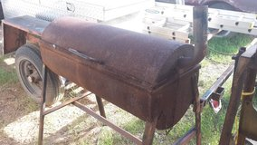 homemade charcoal grill in Alamogordo, New Mexico