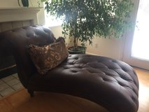 Leather Chaise in Travis AFB, California