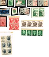 Assortment of US Postage Stamps in Pensacola, Florida
