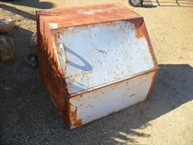 ==  Cool Old Metal Container  == in Yucca Valley, California
