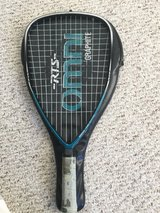 Racquetball Graphite Racquet w cover in Naperville, Illinois