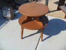 ----  Small Round Table  ---- in Yucca Valley, California