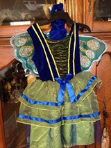 Peacock Costume with Wings-Small in Fort Campbell, Kentucky