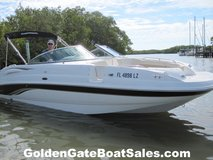 2003, 24' CHAPARRAL 243 SUNESTA with 2016 ROCKET Dual Axle Aluminum Trailer Included in MacDill AFB, FL