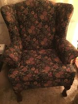 Floral Wing Chair in Perry, Georgia