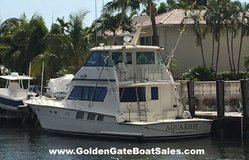 1988, 65 Hatteras 65 Convertible Enclosed Bridge in MacDill AFB, FL