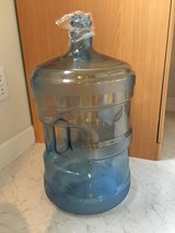 4 gallon reusable water refill container in Okinawa, Japan