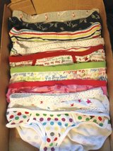 Women's underpants by Aerie & Fruit of the Loom - s/p, Sz. 5 & M/M in Joliet, Illinois