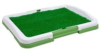 "Puppy Potty Trainer (Green) Indoor Grass Training Patch - 3 Layers - 18"" x 13"" in Lockport, Illinois"