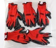 Grease Monkey Nitrile Coated Work Gloves Large (5) Five Pair New! in Alamogordo, New Mexico