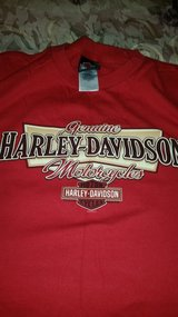 Harley Davidson red tshirt in Conroe, Texas