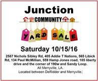 Junction Community Yard Sale in Leesville, Louisiana