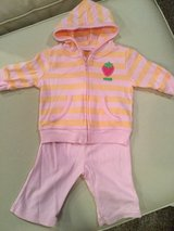 Carter's hoodie/pant set...size 3 months in Shorewood, Illinois