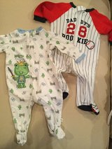 Baby Sleepers...size 6 months in Naperville, Illinois